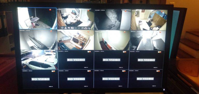 ติดตั้งระบบกล้องวงจรปิด 9 กล้อง ลูกค้าหมู่บ้านเทพารักษ์ สมุทรปราการ