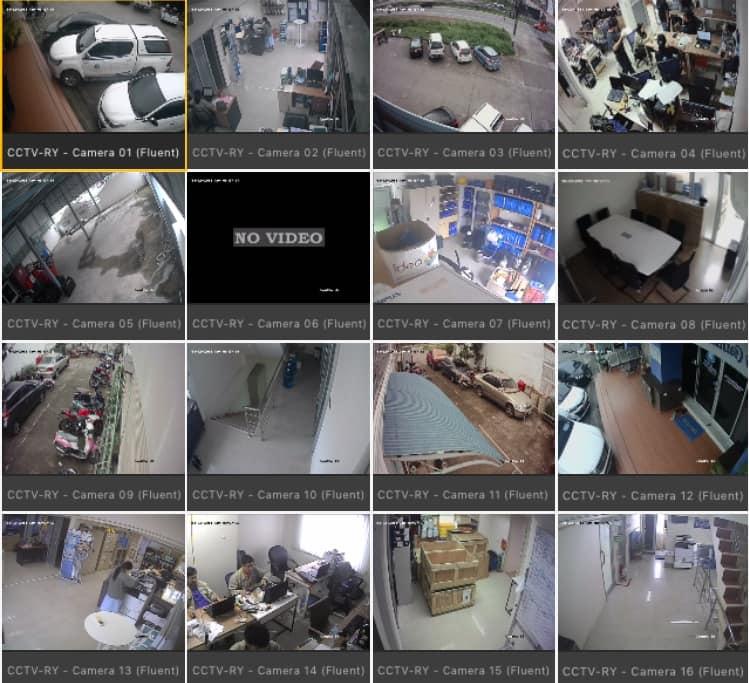 ตั้งกล้องวงจรปิด16จุด นิคมอุตสาหกรรมบางพลี เดินสายใหม่ และติดกล้องใหม่ในตำแหน่งสายเดิม