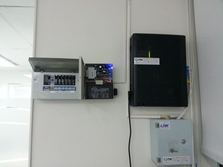 ติดตั้งระบบAccess Control System บริษัทฯเอกชน